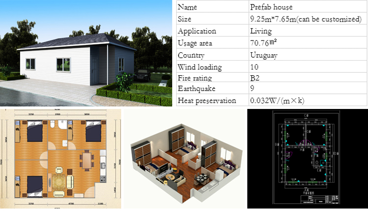 Steady Fast Construction Cheap Prefab House Designs Philippines