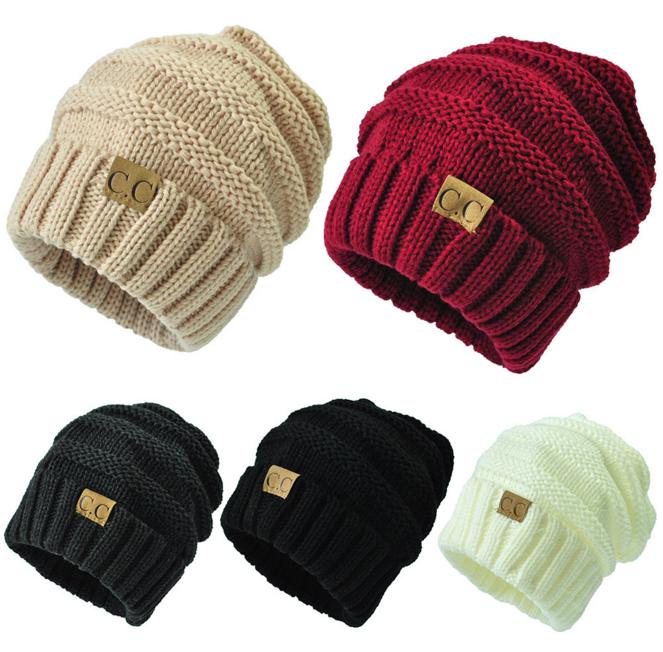 Wholesale Custom Cc Beanie Hat,Cc Label Knitting Beanie Hat