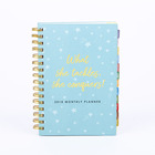 Custom Planner agenda spiral composition notebook school exercise paper note book
