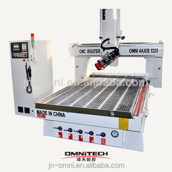 China Hobby Multi Head 4 Axis Cnc Machine
