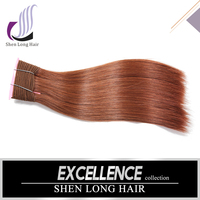 Remy Brazilian Hair Weave 33 Color Straight Hair Weave Colored Hair Extension