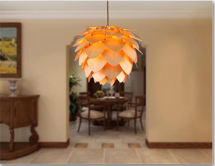 Moderne glazen nieuwe bloem hanglamp voor huis hotel hal