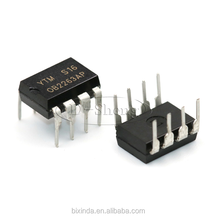 Nieuwe en originele IC OB2263 OB2263AP DIP-8 Power management chip
