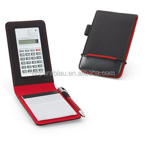 Promotional notebook with calculator for business gift