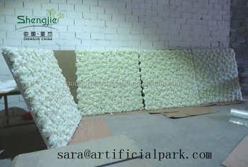 toile de fond de d coration de mariage en soie artificielle mur de fleurs artificielles en gros. Black Bedroom Furniture Sets. Home Design Ideas