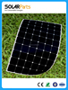 180W marine sunpower solar panel flexible solar panel high efficiency solar panel