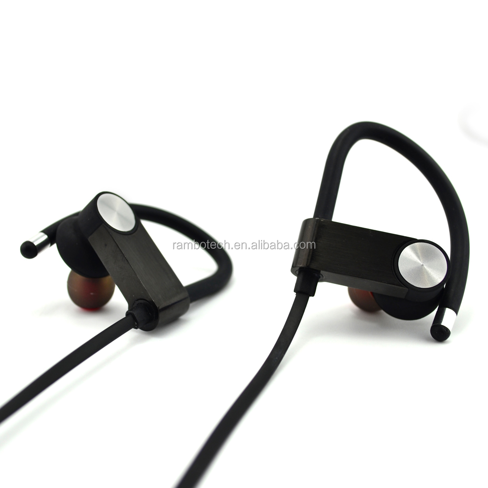 Strong Practicability sport bluetooth earbuds, headset with volume control,for wholesale RU8S