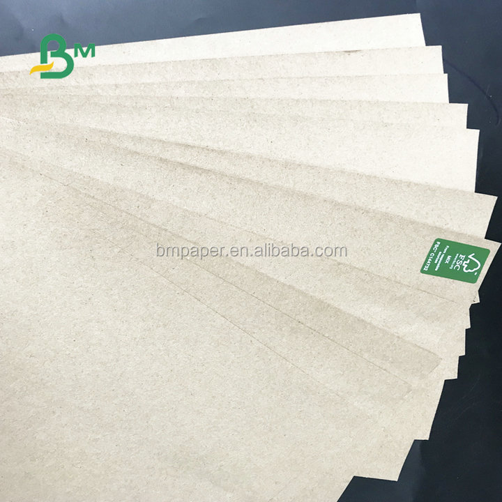 FSC Certificated Mix Pulp 70*100cm 61*86cm 70gsm -120gsm Brown Kraft Paper For Bags