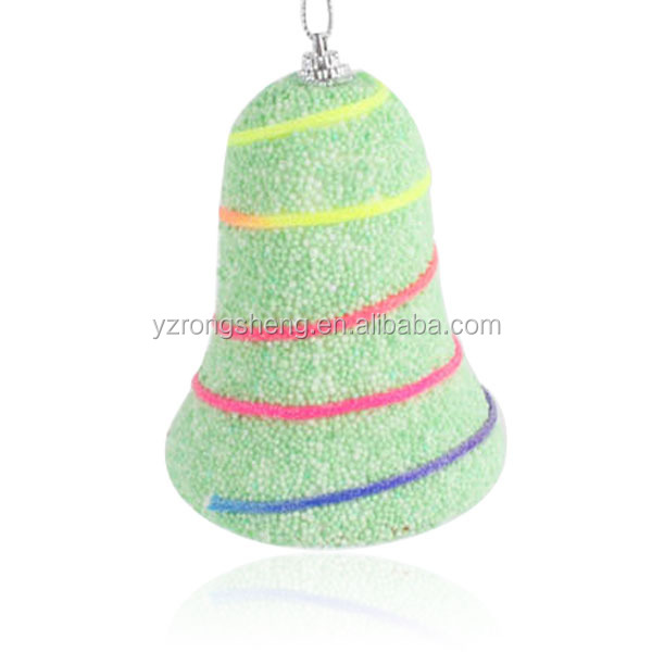 Factory outlets 2015 Christmas tree decoration cheap bell shape Christmas ornaments/Can be customized