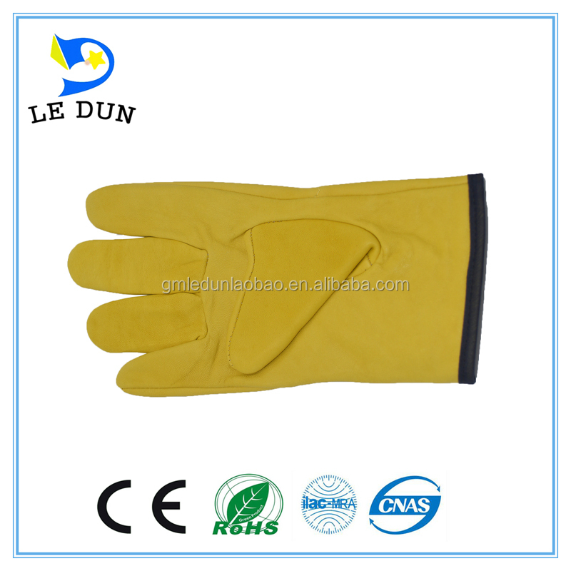 working safety Driving gloves / High quality forklift or truck drivers driving gloves