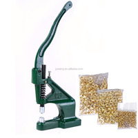 high quality hand press eyelet and machine