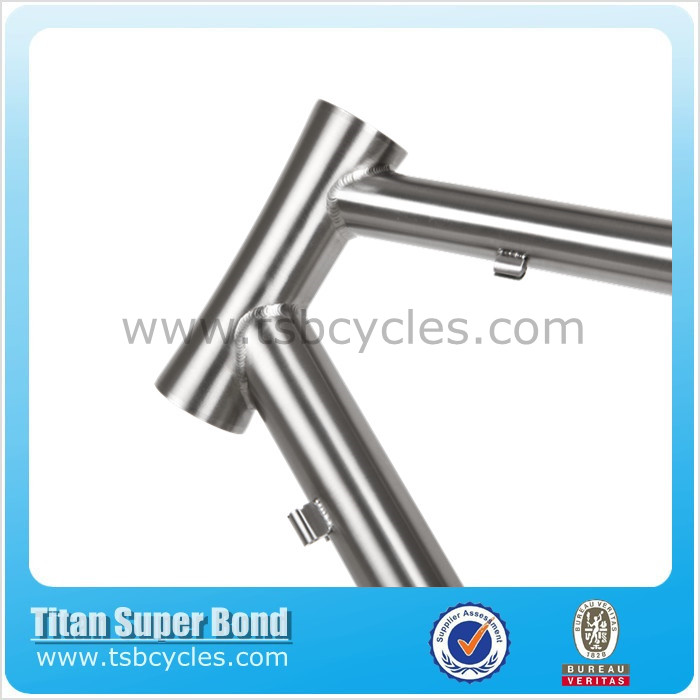 titanium bike frame road manufacture titanium frame road bike