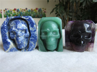 2015Top Sale Natural Blue Sodalite Skull for Home Decoration