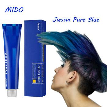 Hair Dye Colour Chart And Pure Blue