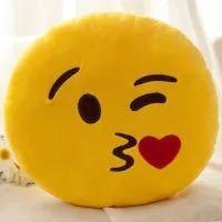 Kostenlose Probe Plüsch Emoji Kissen Custom Schleim