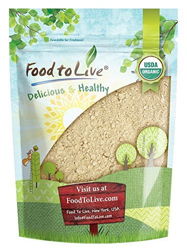 Organic Black Maca Powder by Food to Live (Raw Ground Maca Root, Non-GMO, Kosher, Fine Flour, Bulk) — 4 Ounces