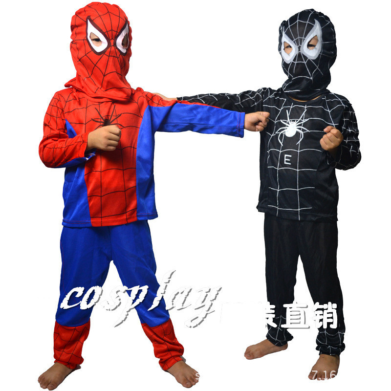 Get Quotations · Red Black Spiderman Costume Disfraces Infantiles Superheroes Cosplay Kid Halloween Costume For Kids Fantasias Disfraces AN257  sc 1 st  Shopping Guide & Cheap Black Spiderman Costume Adults find Black Spiderman Costume ...