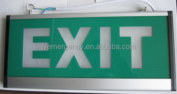 Rechargable Led Emergency Fire Fighting Exit Sign Light Jy-3506 ...