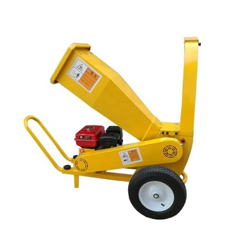 High efficiency Horizontal wood chipper shredder