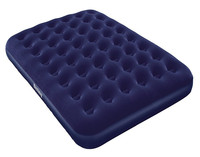 Bestway 67002 flocked full-size air bed inflatable folding air mattress bed for camping/home