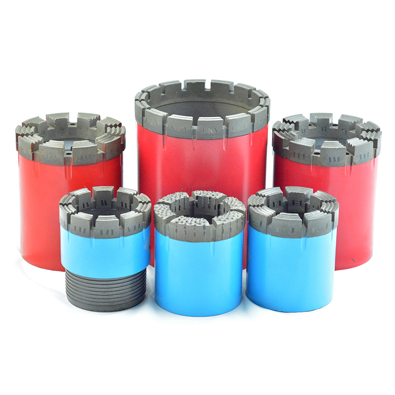 geological prospecting drilling tools, impregnated, surface set, PDC drilling bits for different formation