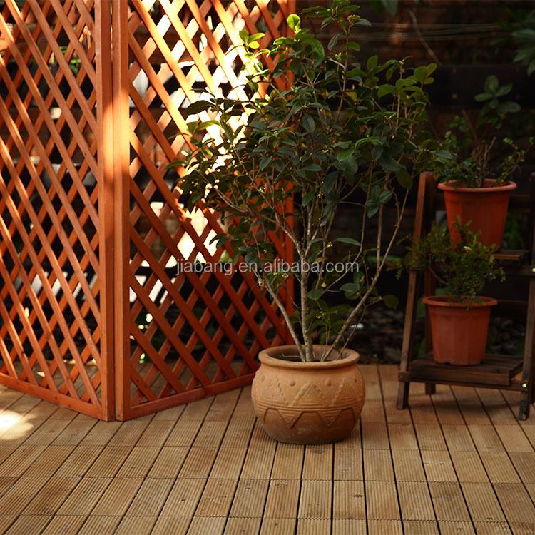 Jardín Al Aire Libre Impermeable De Enclavamiento De Acacia De Piso De Madera Tejas Terrazas En Precio Barato