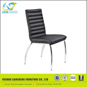 chaise reception noir