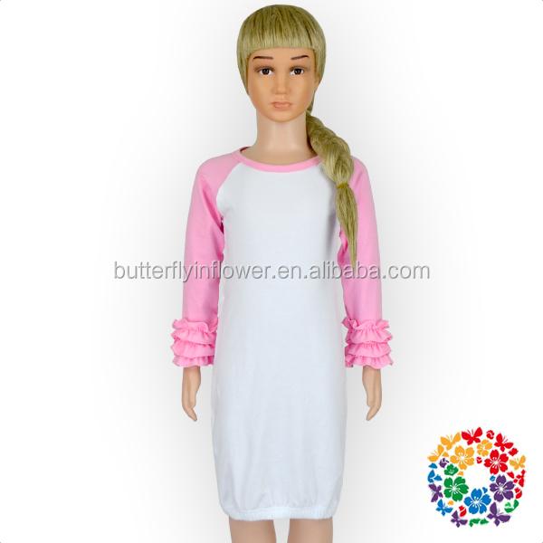 373e607b8cb9 Ruffle Raglan Gown Wholesale