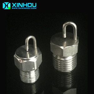 1/4 one-piece 90 degree impingement micro fog nozzle for hunidifying