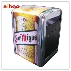 STANDARD NAPKIN DISPENSER WITH MENU HOLDER