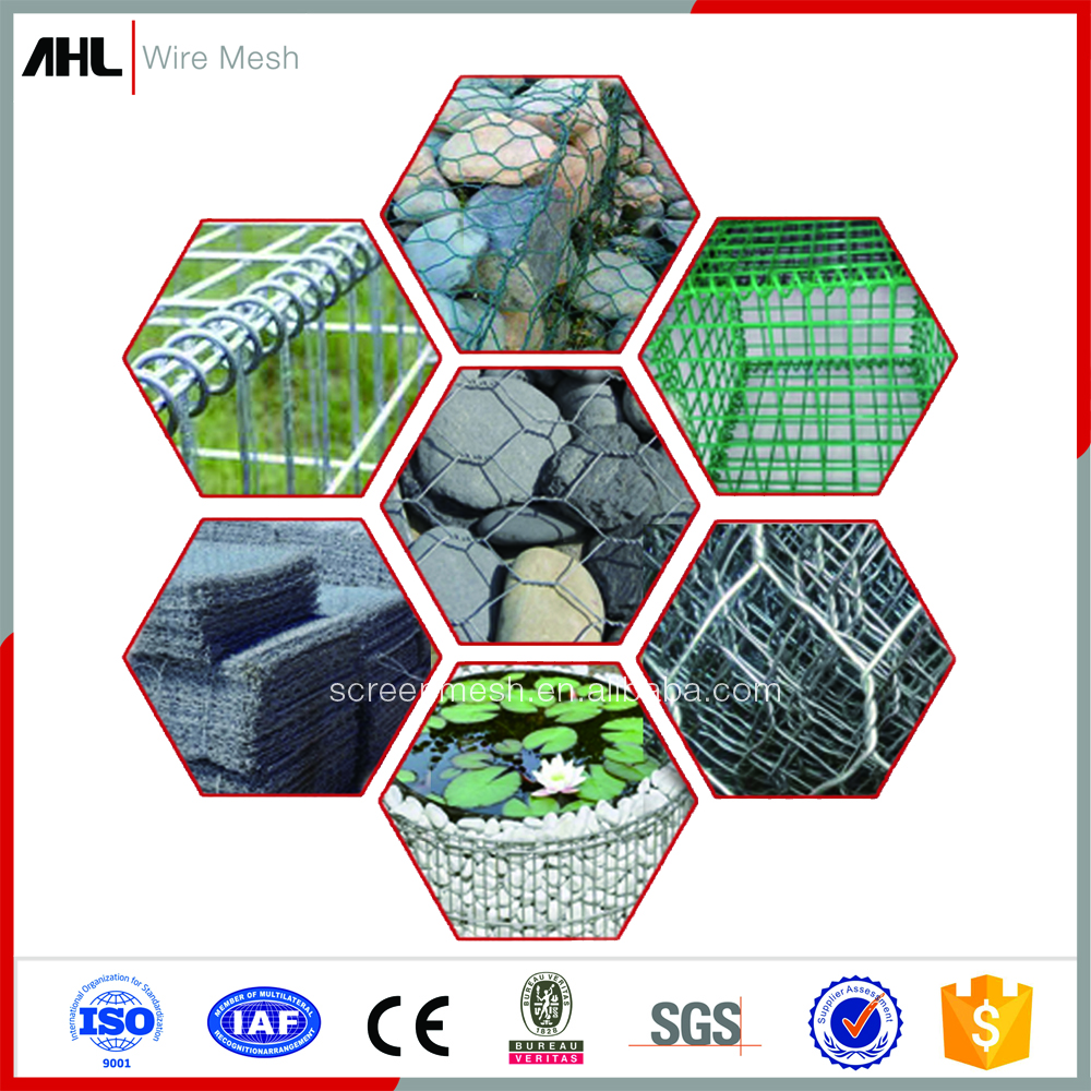 Manufacture Reasonable Price Welded Mesh Galvanized PVC Stainless Steel Gabion Basket Retaining Wall Gabion Cages