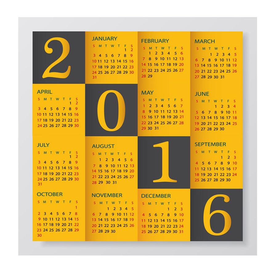 Cf2-715 Table Paper Calendar 2017 Cheap High Quality Manufacturer ...