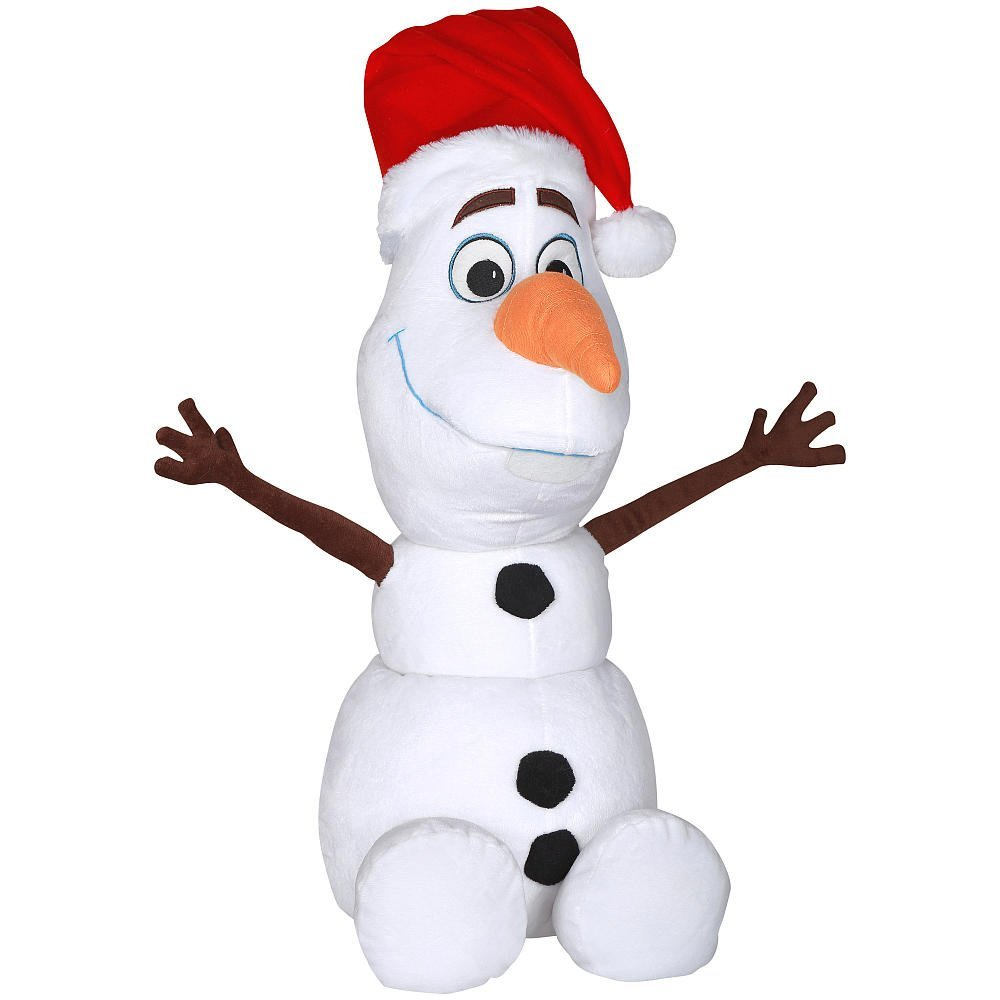 ff777447546 Get Quotations · Holiday Greeter - Disney Frozen Olaf with Santa Hat