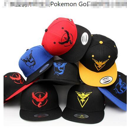 Pokemon Go Hat Team Valor Team Mystic Team Instinct Snapback - Buy Pokemon  Hat 595fbaf652ad