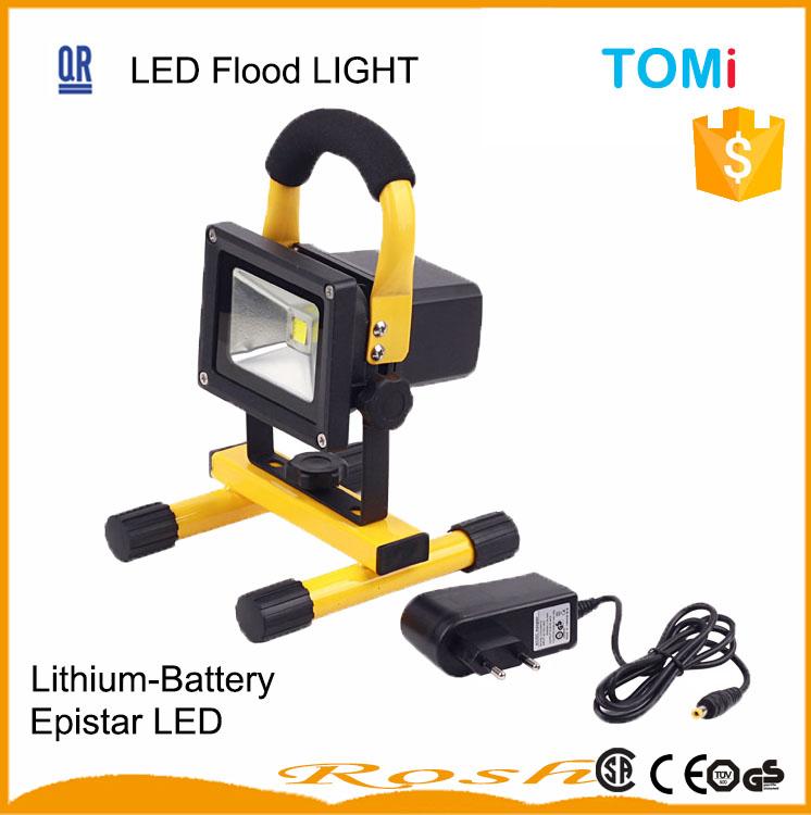 Portable Battery Powered Led Flood Lights Working Light ...