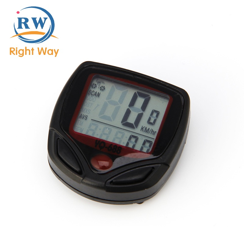 Wholesale Portable and Convenient Electric GPS Bike Computer with LCD Display