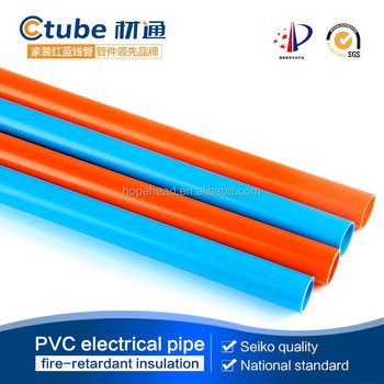 Pvc Conduit Pipe For Electric Wire 20mm Orange White Blue Color Buy Pvc Conduit Pipe 25mm Pvc Grey Conduit Pipe Electrical Gi Conduit Pipes Product On Alibaba Com