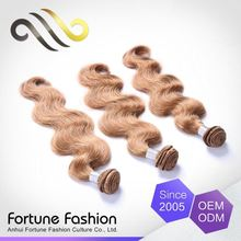 Best Price Guarantee 2 Years Humain Blond Hair Color Grey Dye Weft Bulk