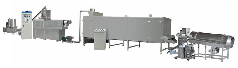 Otomatik Yastık Aperatif Yiyecek Gofret Sopa Işleme Makinesi Tipi Paketleme Hattı