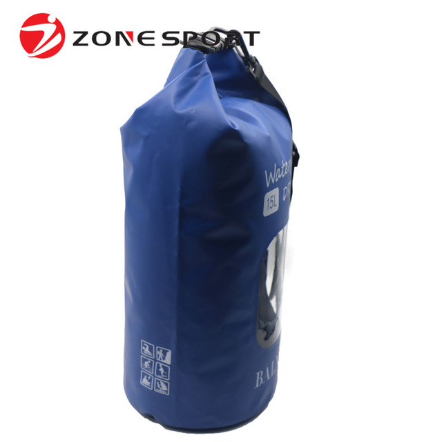 a948a5661c Outdoor Foldable Ocean Bag Waterproof Backpack Pack Dry For Camping