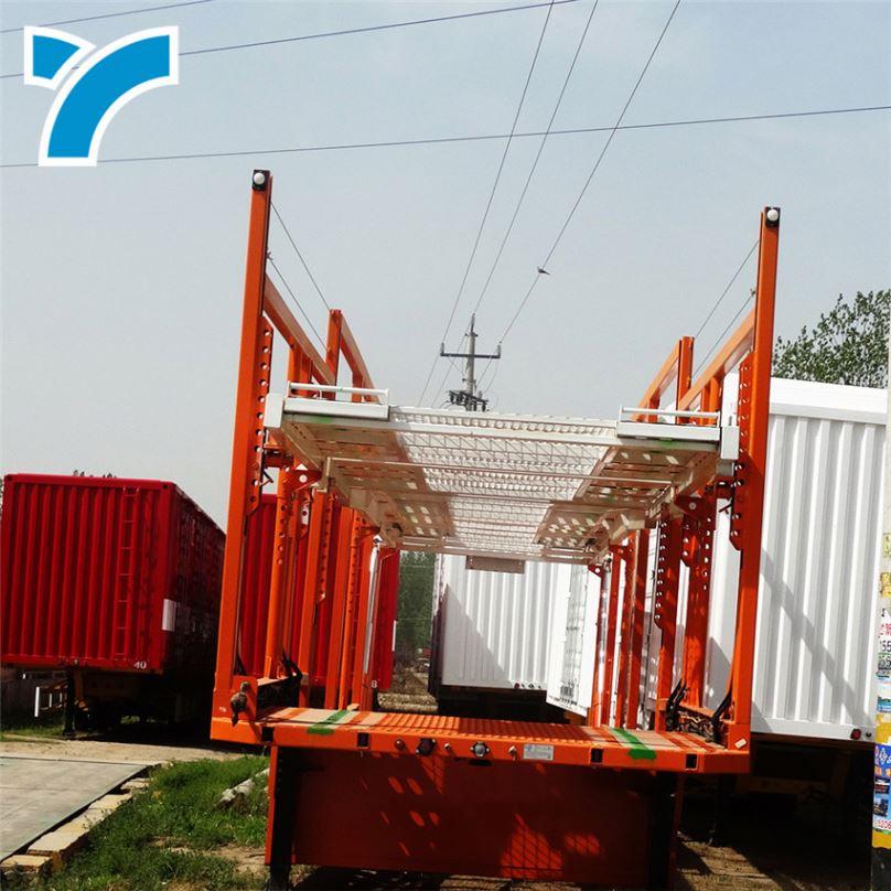 Factory Direct Truck A-Frame Transport Racks 2 / 3 / 4 Axles Trailer Car Carrier