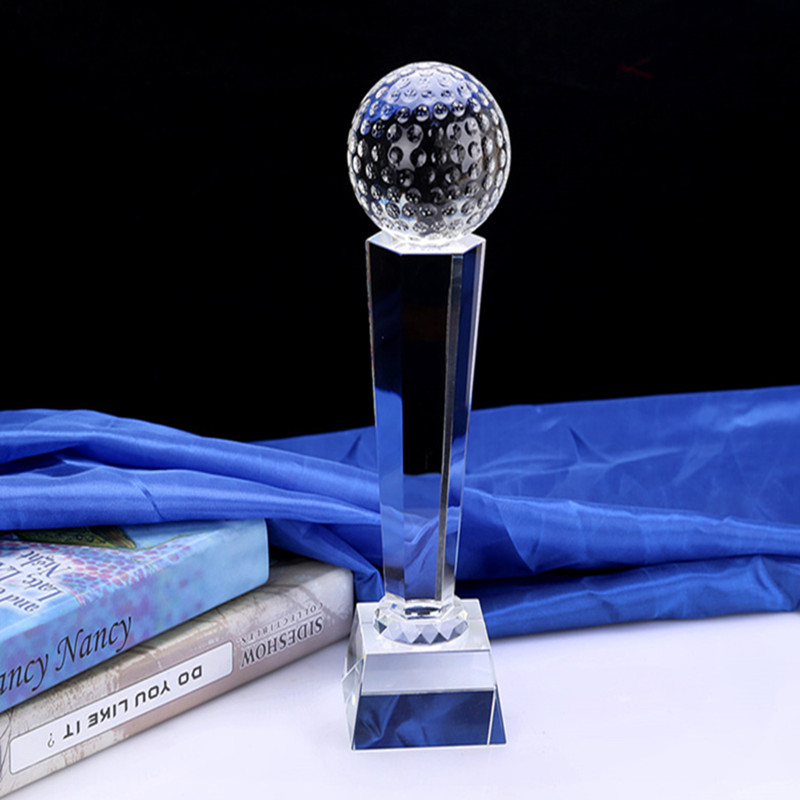 Sports Event Crystal Glass Trophies And Awards Craft Gift