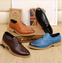 2016 new fashion casual hollow dress shoes for men
