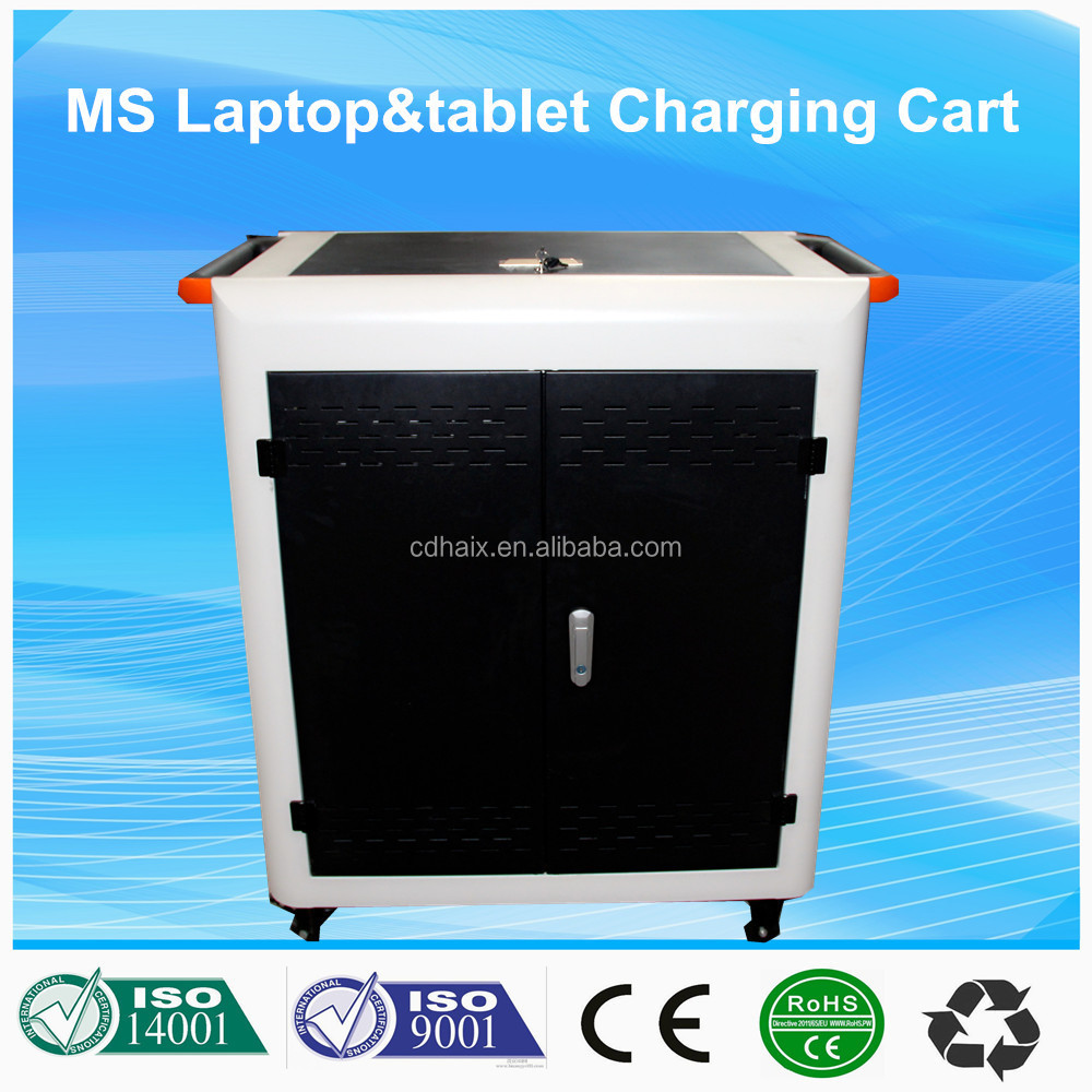 Tablet Storage&Charging Cart mobile charging cart school educational equipment