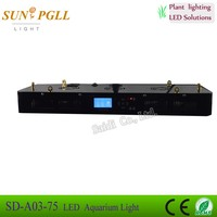 RGB Remote Color Changing LED Fish Tank Light Submersible Air Curtain Aquarium 225W Led Aquarium Light