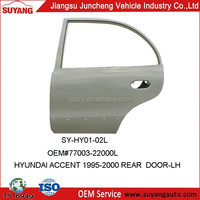 Hyundai Accent 1997 Rear Door Panel Auto Body Parts