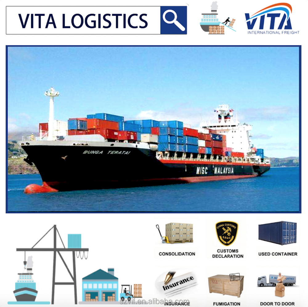Wuhan shipping services sea shipping to Los Angeles Seattle Houston USA,Canada