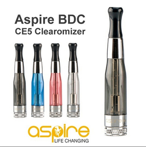 Aspire CE5-S BDC clearomizer Bottom Dual Coil Atomizer original Aspire CE5/CE5-S BDC