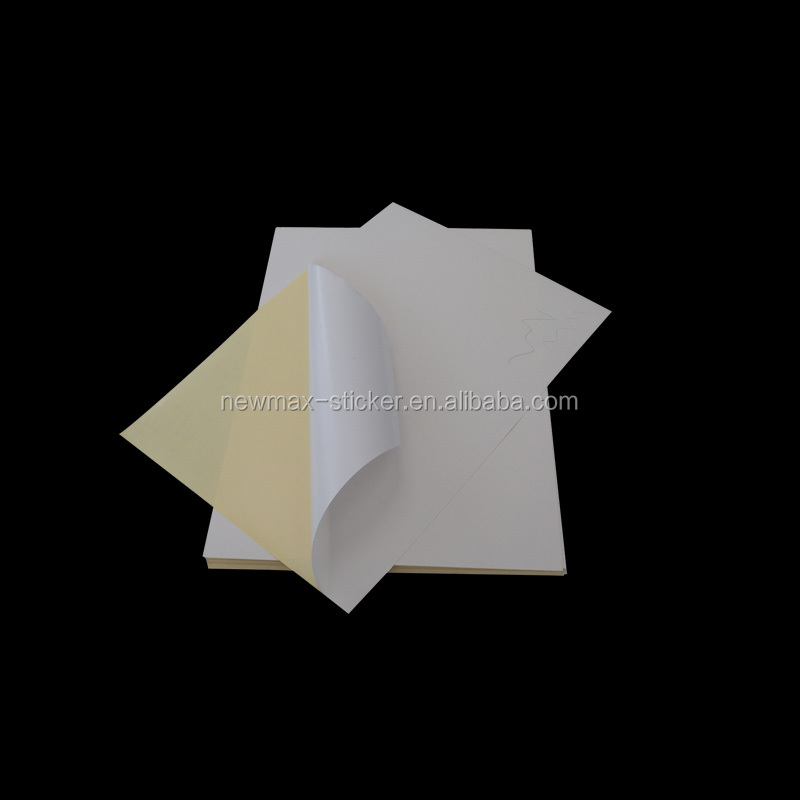 Blank Lable Self Adhesive Sticker Thermal Paper roll