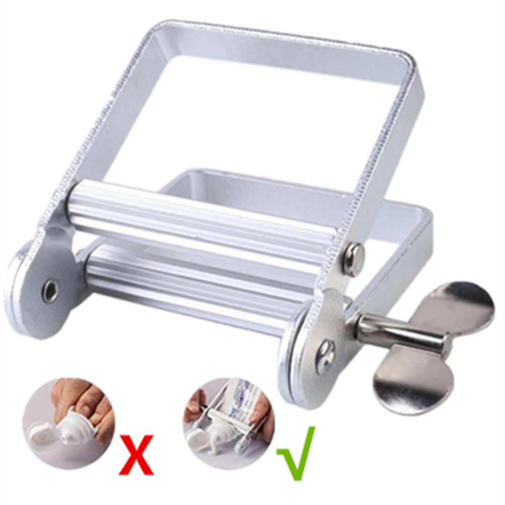 Aluminum Tube Squeezer Metal Tube Squeezer Paint for Professional Hair Salon Hair Color Tube All Metal Tube Wringer for Cosmetics